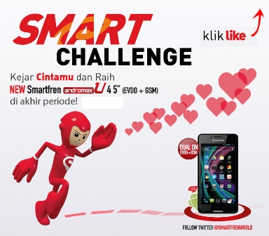 Facebook Tab Andromax U - Smart Challenge