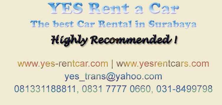 rental mobil yes rent a car