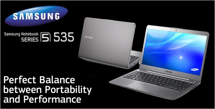 Harga Ultrabook Murah Samsung Series 5 NP535U3X-A01ID