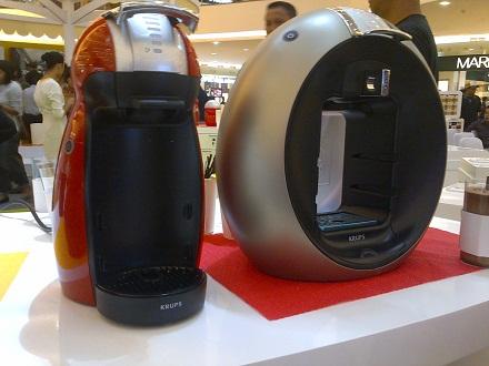 mesin pembuat kopi nescafe