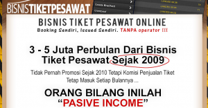 cara memullai bisnis tiket