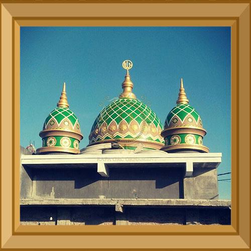 harga kubah masjid grc bandung dari kontraktor kubah masjid