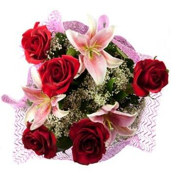 kedai bunga teluk intan perak hand bouquet